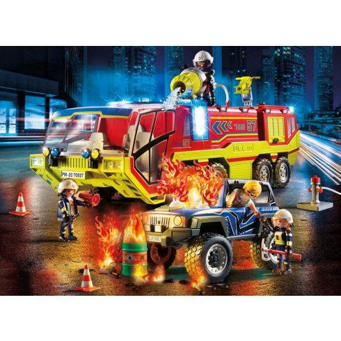 Playmobil 70557 Tűzoltóautó terepjáróval