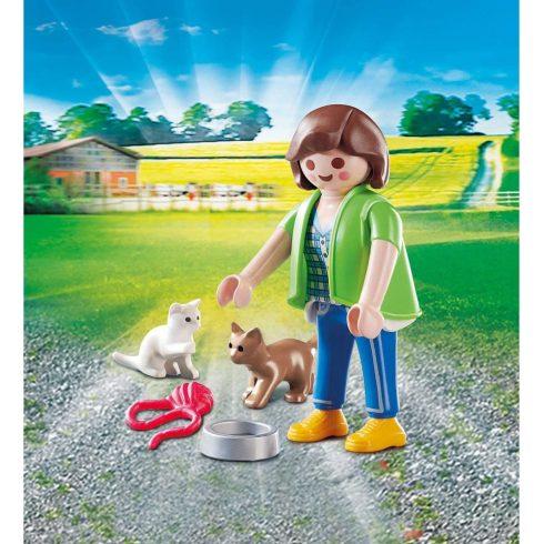 Playmobil 70562 Nő kiscicákkal
