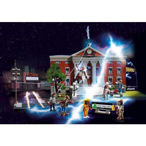 Playmobil 70574 Karácsony - Back to the Future adventi kalendárium, naptár - Vissza a jövőbe