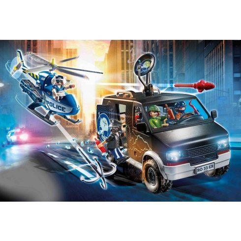 Playmobil 70575 Rendőrségi helikopter autós üldözése