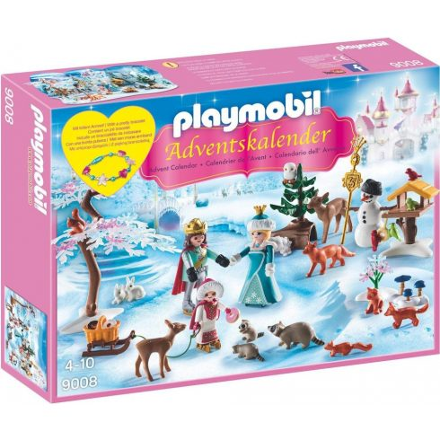 Playmobil 9008 Karácsony - Adventi kalendárium, naptár - Korcsolyázik a királyi család