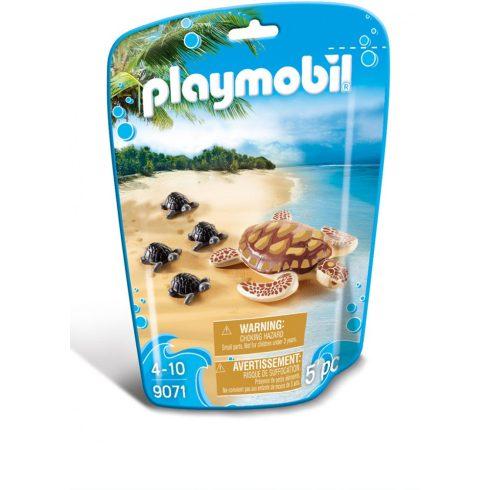 Playmobil 9071 Tengeri teknős kicsinyeivel