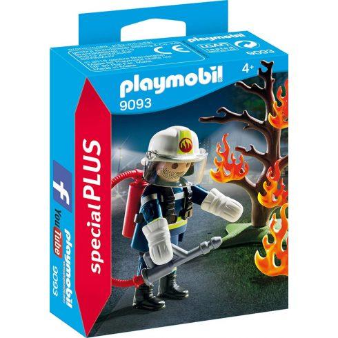Playmobil 9093 Tűzoltó bevetésen