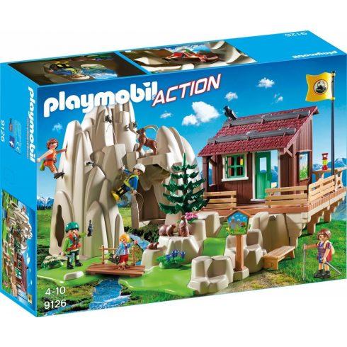 Playmobil 9126 Sziklamászók hegyi kunyhóval