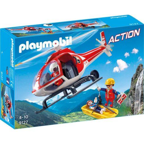 Playmobil 9127 Hegyimentő helikopter