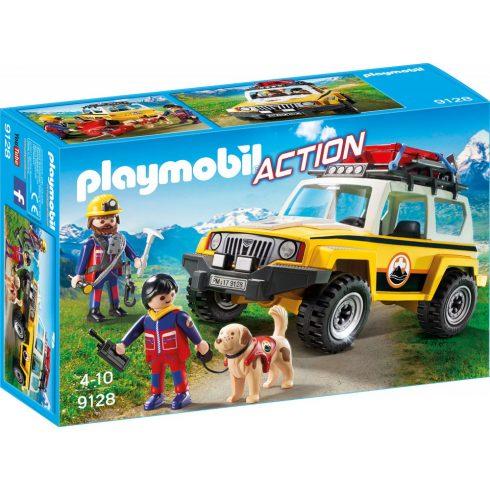 Playmobil 9128 Hegyimentők sürgősségi jeeppel