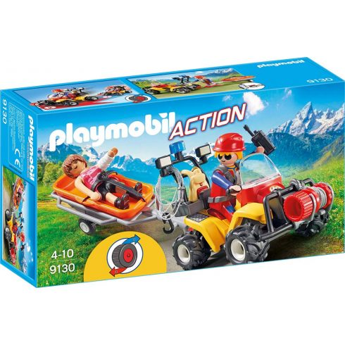 Playmobil 9130 Hegyimentő quad