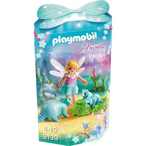 Playmobil 9139 Tündérke és a mosómedvék