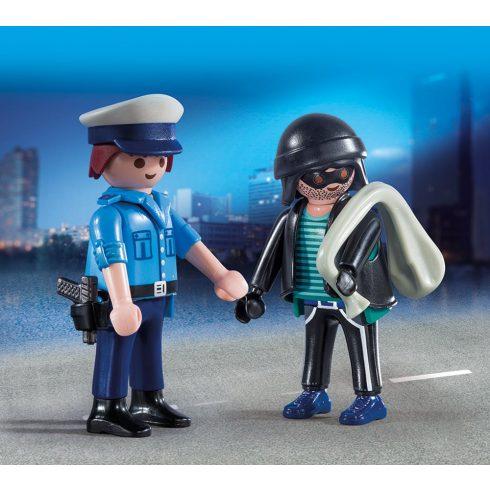 Playmobil 9218 Rendőr és tolvaj
