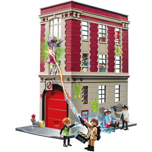 Playmobil 9219 Szellemirtók tűzoltóállomása