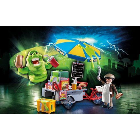 Playmobil 9222 Slimer hot dog standdal