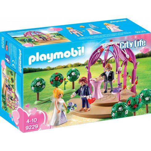 Playmobil 9229 Esküvői pavilon menyasszonnyal és vőlegénnyel