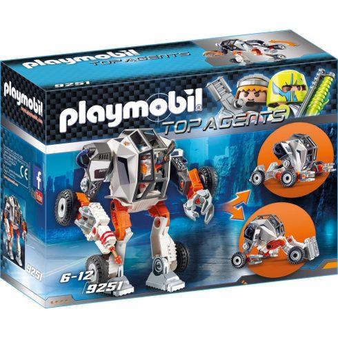 Playmobil 9251 Ügynök és átalakuló autója