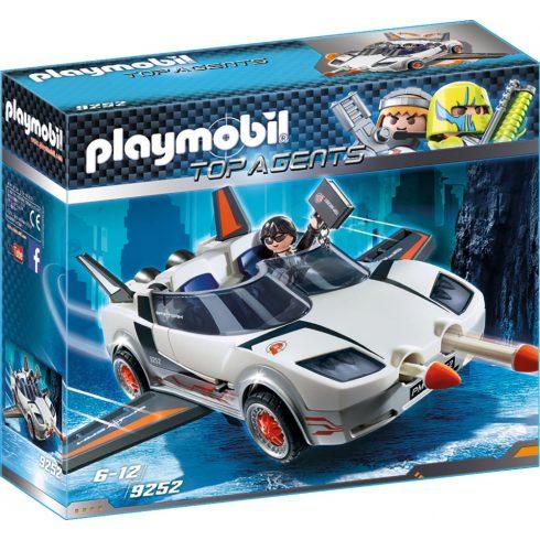 Playmobil 9252 Titkos ügynök rakétakilövő autóval