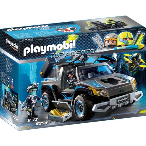 Playmobil 9254 Dr. Drone pick-upja