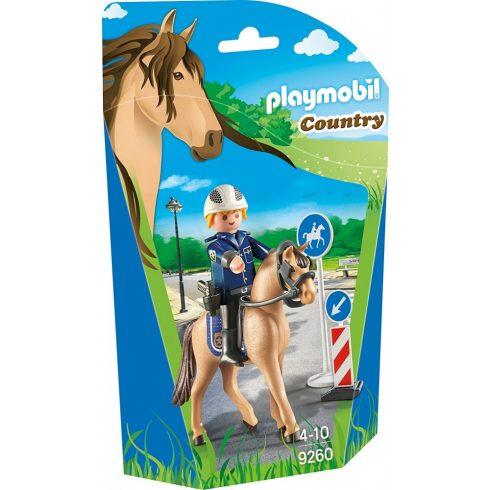 Playmobil 9260 Lovas rendőrnő