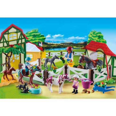 Playmobil 9262 Karácsony - Adventi kalendárium, naptár - Lovarda