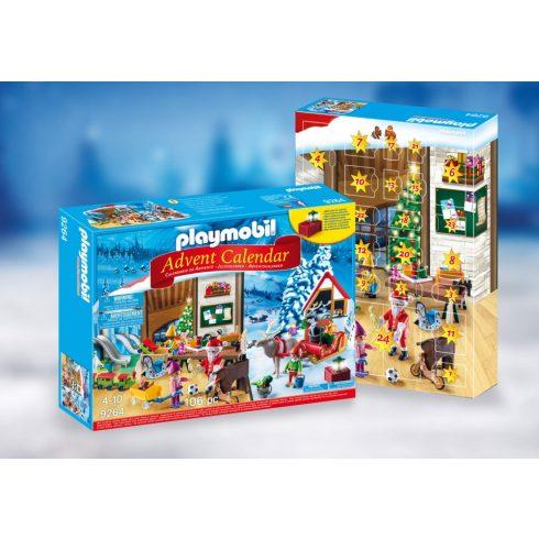 Playmobil 9264 Karácsony - Adventi kalendárium, naptár - Mikulás játékgyára