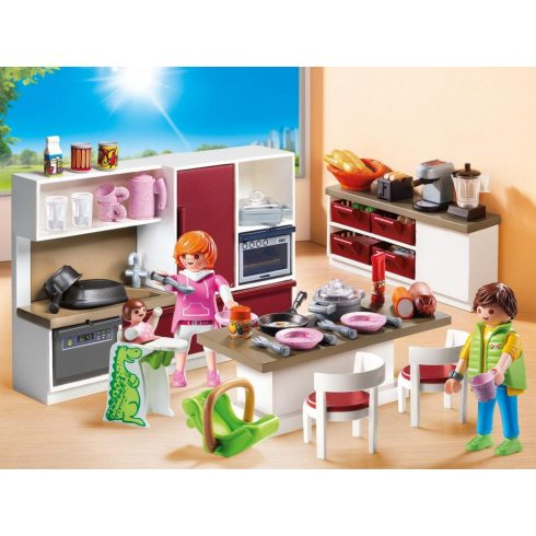 Playmobil 9269 Családi konyha