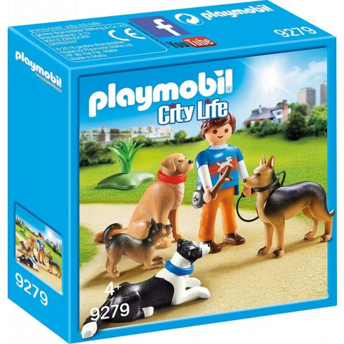 Playmobil 9279 Kutyakiképző