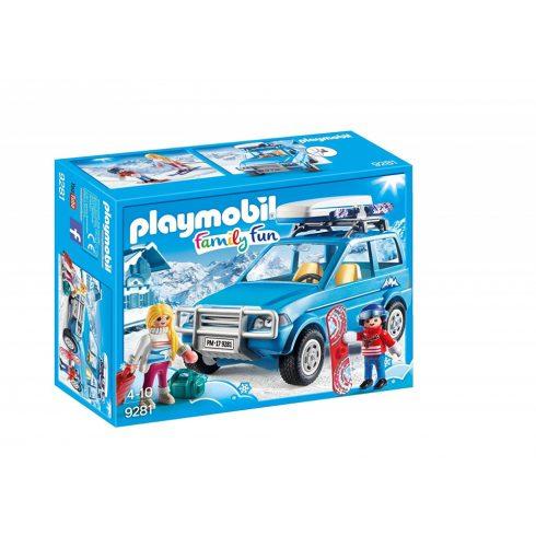 Playmobil 9281 Autó tetőboxszal