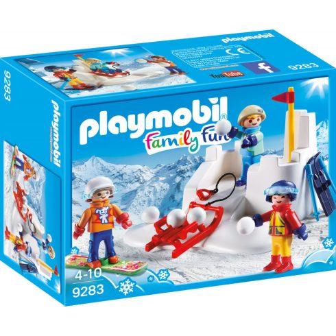 Playmobil 9283 Hógolyózás