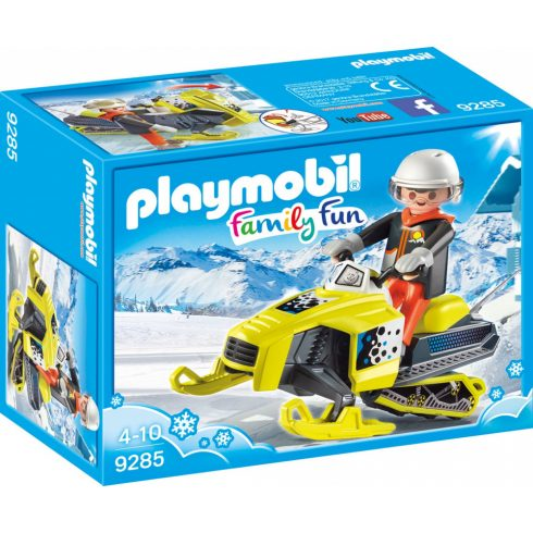 Playmobil 9285 Motorosszán