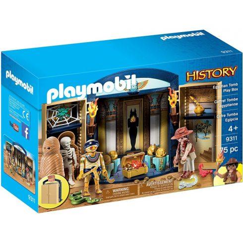 Playmobil 9311 Egyiptomi sírkamra játékdoboz