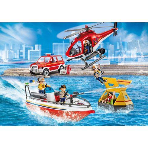 Playmobil 9319 Tűzoltók bevetésen
