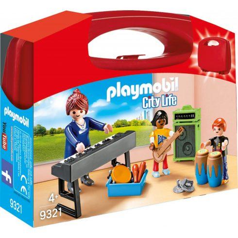 Playmobil 9321 Hordozható zeneiskola szett