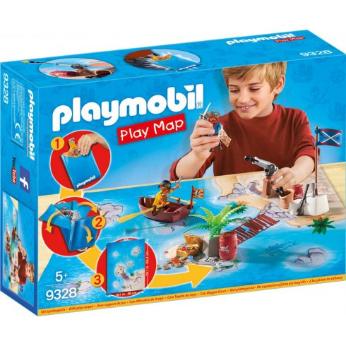 Playmobil 9328 Play Maps - Kalózok