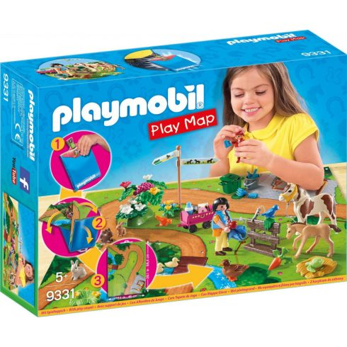 Playmobil 9331 Play Maps - Pónilovaglás