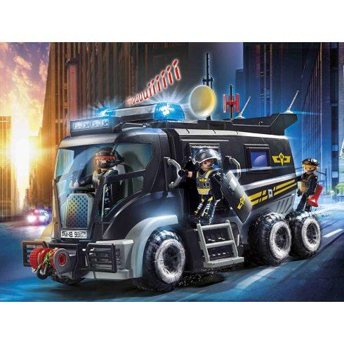 Playmobil 9360 Speciális egység kamionja