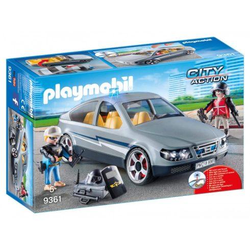 Playmobil 9361 Speciális egység ügynöki autója