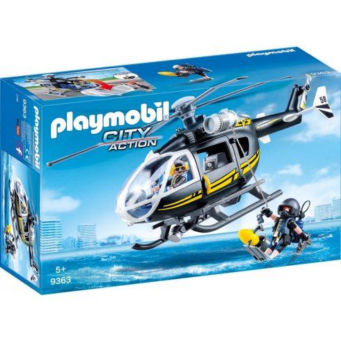 Playmobil 9363 Speciális egység helikoptere