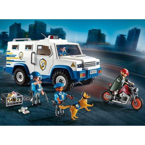 Playmobil 9371 Páncélautó, rendőrautó