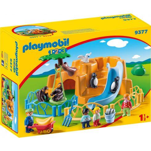 Playmobil 9377 1.2.3 Állatkert kicsiknek