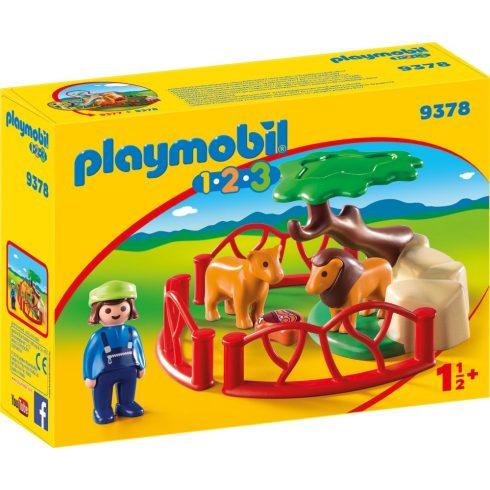 Playmobil 9378 1.2.3 Oroszlánkert kicsiknek