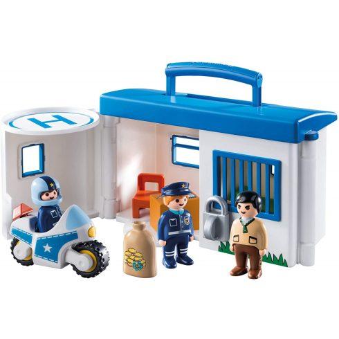 Playmobil 9382 1.2.3 Hordozható rendőrség kicsiknek