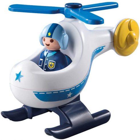 Playmobil 9383 1.2.3 Rendőrségi kishelikopter