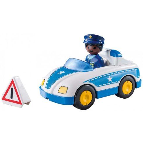 Playmobil 9384 1.2.3 Rendőrségi kisautó