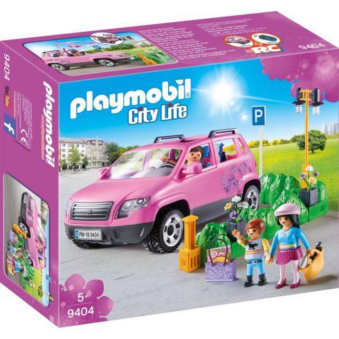 Playmobil 9404 Családi kocsi parkolóhellyel