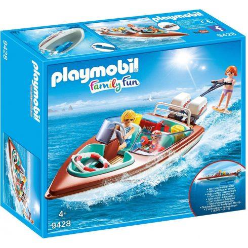 Playmobil 9428 Motorcsónak vízisízővel