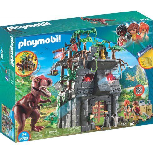 Playmobil 9429 Alaptábor és T-Rex