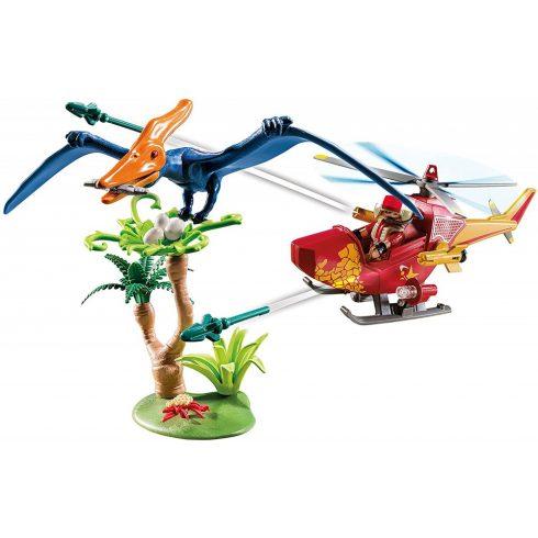Playmobil 9430 Felderítő helikopter repülő dínóval