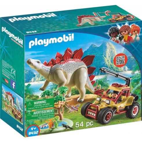Playmobil 9432 Kutatók Stegosaurussal