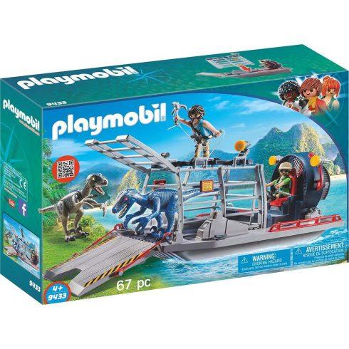 Playmobil 9433 Ellenséges hajó Velociraptorokkal