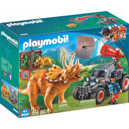 Playmobil 9434 Terepjáró hálóvetővel