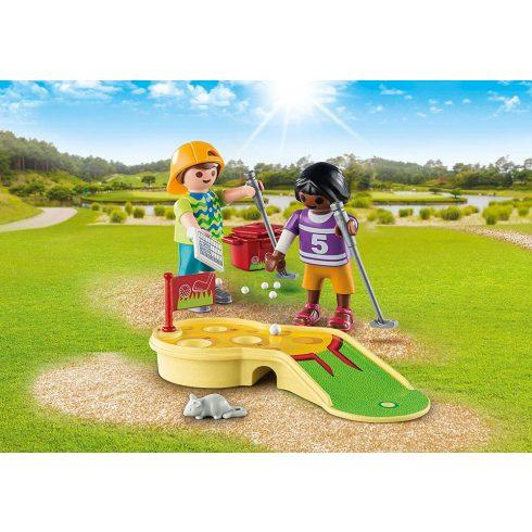 Playmobil 9439 Minigolfozó gyerekek