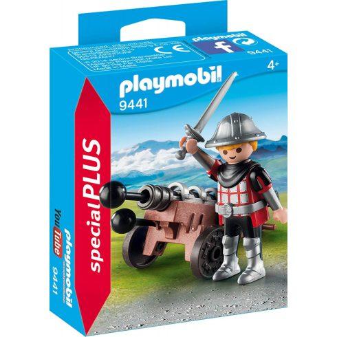 Playmobil 9441 Páncélos lovag ágyúval